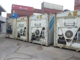 refrigerador de la cámara fría del envase de los 40FT con el compresor, evaporador aire acondicionado, el panel de Insualted