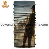 Bandana impreso insignia de encargo de la pesca de la manera de los accesorios del pelo del precio de fábrica