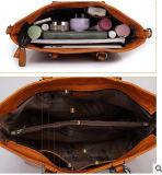 Hotsaleオイルのワックスのレトロの方法傾向のオートバイPUのハンド・バッグ