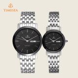 Hete het Roestvrij staal van de manier verkoopt Horloge voor Dames, Mens 70037
