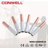 Constructeur bimétallique en aluminium de cuivre de tige de cosses électriques de Conwell
