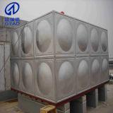 Los tanques de agua del acero inoxidable del tanque de agua
