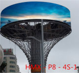Modulo esterno della visualizzazione di LED di colore completo P8 di HD per fare pubblicità