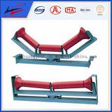 Acero doble de la flecha y rodillo de la fricción del HDPE para ajustar la desviación de la correa