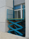 Stationärer hydraulischer Waren-Aufzug (SJG0.5-7)