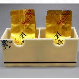 Sostenedor de acrílico tablero del bolso de té de 2 secciones para el uso del hotel del restaurante