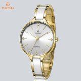 Relojes de cerámica de lujo de las mujeres con los diamantes brillantes 71034