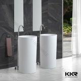 Lavabo di pietra artificiale del dispersore della stanza da bagno degli articoli sanitari 170227