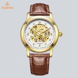 Horloge 72835 van het Kristal van het Skelet van het Horloge van de Beweging van de Mensen van de Douane van de manier Mechanisch Automatisch