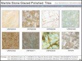Voll polierte glasig-glänzende Porzellan-Fußboden-Fliesen (VRP6D019 600X600mm)