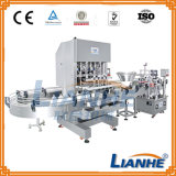Riempitore/capsulatrice/etichettatore automatici pieni per la linea di imbottigliamento liquida