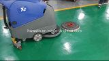 Máquina eléctrica de la limpieza del raspador del piso de la mano