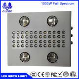 1000W 두 배 칩 LED는 온실과 실내 플랜트 꽃이 만발하는 성장하고 있는을%s 가벼운 가득 차있는 Specturm를 증가한다 (10W LEDs)
