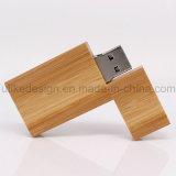 Unidad flash USB de madera de diseño simple (UL-W010-02)