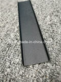 "Perfil en forma de ""U"" de la protuberancia de aluminio revestida de 6063 polvos"