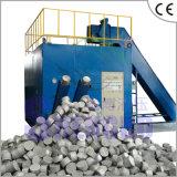 Machine horizontale de briquetage de poudre d'alliage avec du ce