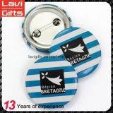 ロゴの卸し売りカスタム錫ボタンのバッジ