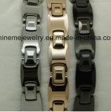 Hommes et femmes avec un bracelet en tungstène pur avec des soins de santé
