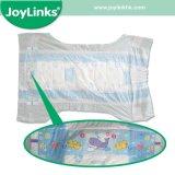 Pañal desechable para bebés y cojín con anti-fugas
