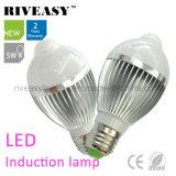 luzes de bulbo do diodo emissor de luz da luz da indução do diodo emissor de luz 5W