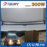 300W LED 모는 일 36W 최고 밝은 차 LED 표시등 막대 12V 24V