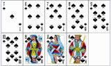 54 بطاقات [روسّين] صنع وفقا لطلب الزّبون [بلي كرد] ورقيّة لأنّ ترقية