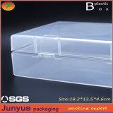 El lavadero plástico del embalaje marca en la tableta el rectángulo, rectángulo de almacenaje