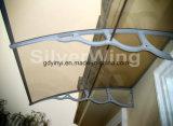 Grande baldacchino esterno del balcone del PC di DIY con le parentesi di plastica (YY1500-H)