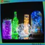 Lumières de chaîne de caractères du festival DEL de Noël