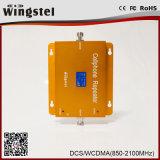 répéteur mobile à deux bandes extérieur de signal de 3G 4G 1800/2100MHz