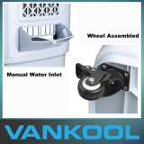 Refrigerador de aire evaporativo al aire libre conveniente, refrigerador agua-aire del refrigerador portable del pantano