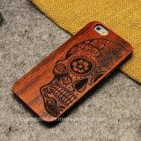 Caja de madera de alto grado del teléfono móvil para el iPhone 7