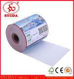 Roulis thermique de papier de caissier de qualité normale d'Europea pour le marché superbe