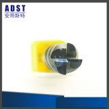 Ferramenta de estaca do moinho de extremidade do nariz 4flute da esfera de aço de tungstênio