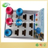 フルカラーの折りたたみの段ボール紙の陳列台ボックス(CKT-CB-430)