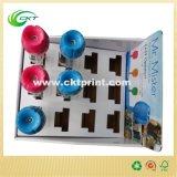 Farbenreicher Falz-gewölbtes Papier-Ausstellungsstand-Kasten (CKT-CB-430)