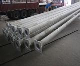 línea de transmisión octagonal de los 7m Galvanizaed acero poste