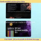 De Kaart van de Druk van Inkjet van vier Kleur met Magnetische Streep voor Advertentie