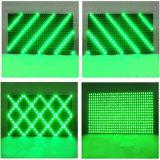 Scheda verde Semi-Esterna del modulo della visualizzazione di LED di P10 pH10 per la matrice a punti dell'interno del segno 16*32