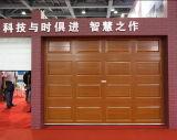 Porte sectionnelle Hf-166 de garage des graines en bois électroniques
