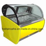 Gelato Bildschirmanzeige-Schaukasten für Eiscreme-Kettenladen