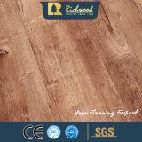 revestimento de madeira estratificado laminado do parquet da prancha do vinil de 8.3mm HDF parquet V-Grooved