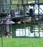 Automatische Fotorezeptor-Funktions-haltbare Solarmoskito-Mörder-Lampe