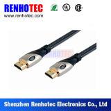 Les favoris comparent l'or du câble 24k de HDMI