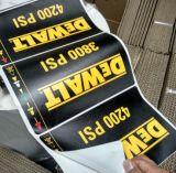 Etiquetas adhesivas modificadas para requisitos particulares superventas para los neumáticos