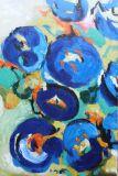 예쁜 색깔 요약 고품질 Handmade 기름 헐덕거리기