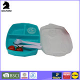 Bunter Plastikbehälter-Mittagessen-Kasten Bento Kasten