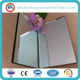 Vidrio del espejo de la plata sin plomo de cobre amarillo de 4m m con el certificado de Ce