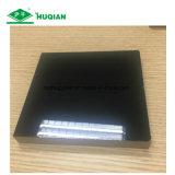 MDF ULTRAVIOLETA de la melamina del negro de la tarjeta 1220*2440 para el uso de interior