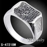 Commercio all'ingrosso di qualità superiore della fabbrica dell'anello dei monili dell'argento di disegno